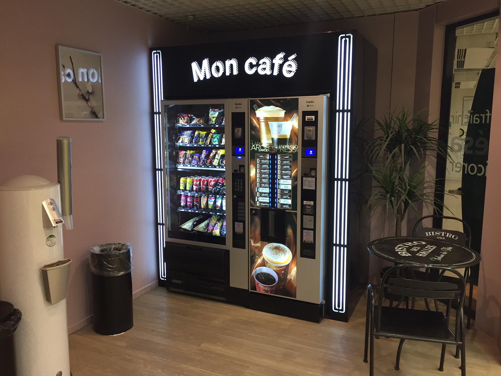 Approvisionneur Machine A Cafe